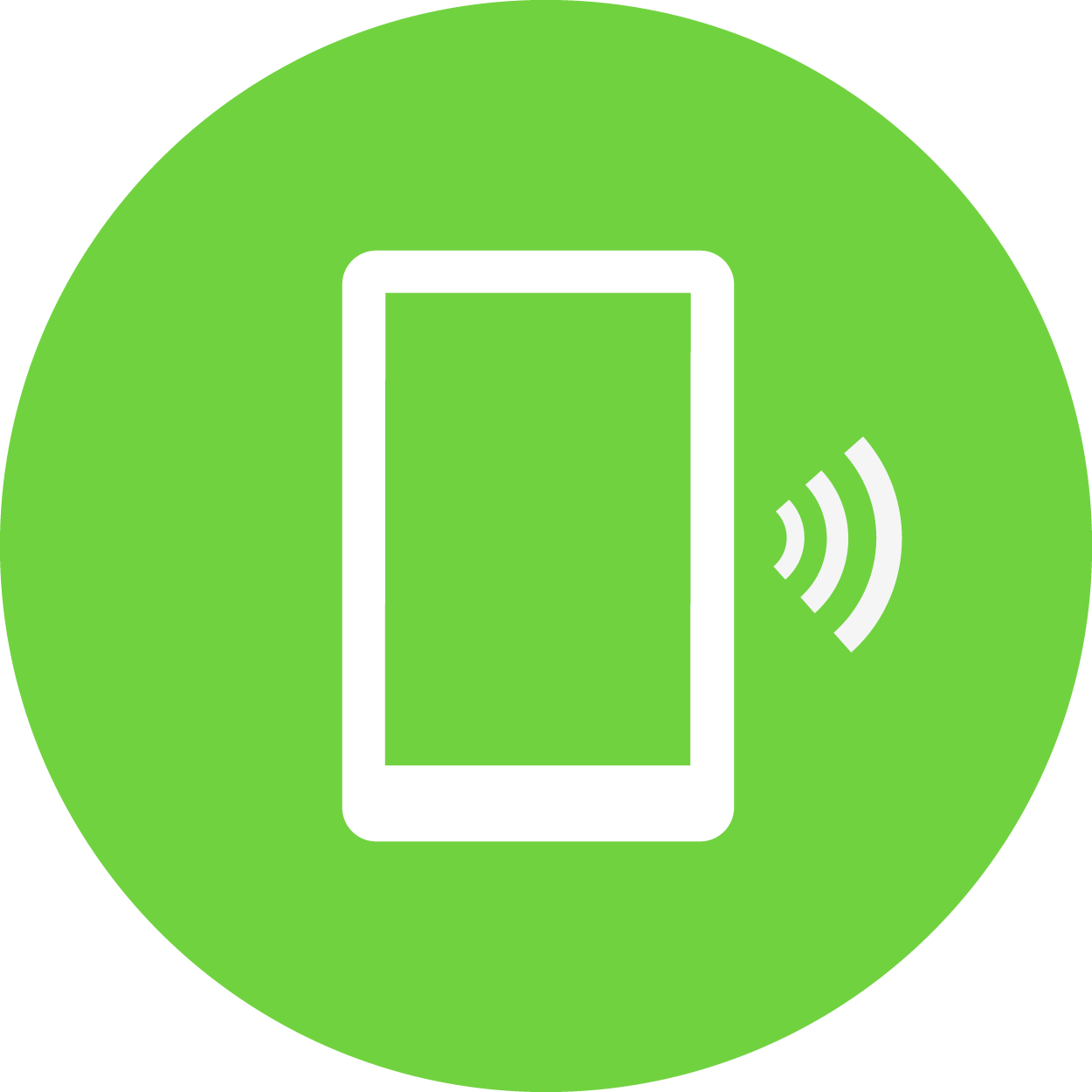 icona ricarica tramite smatphone