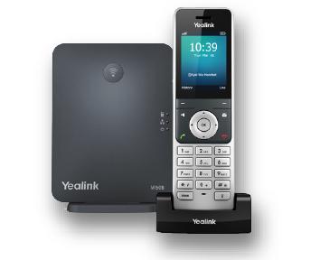 Telefono VoIP Yealink Cordless W60P