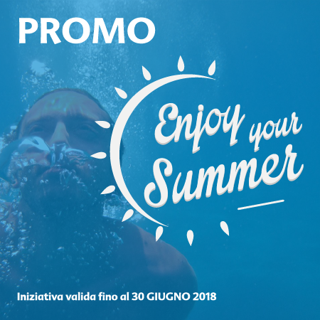 Promo enjoy your summer 2018 sticker