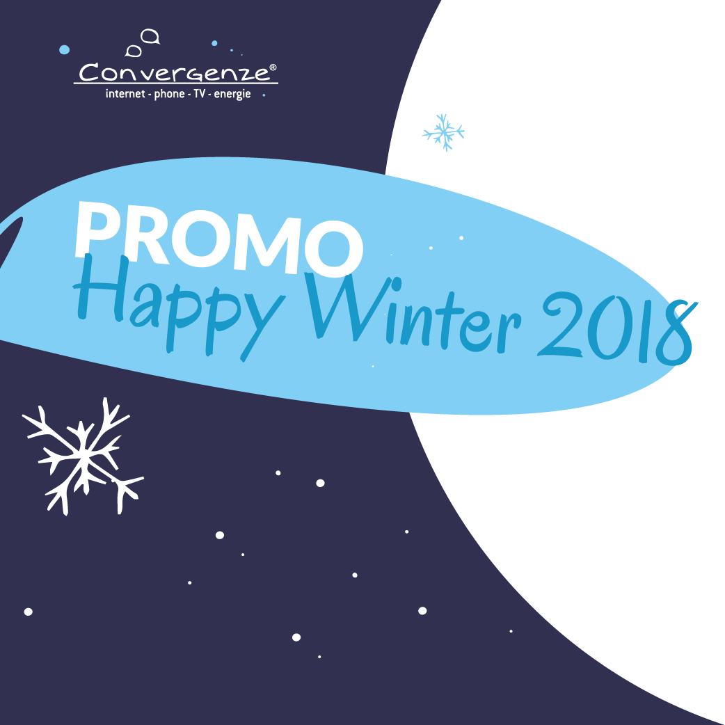 Promo happy winter 2018 sticker