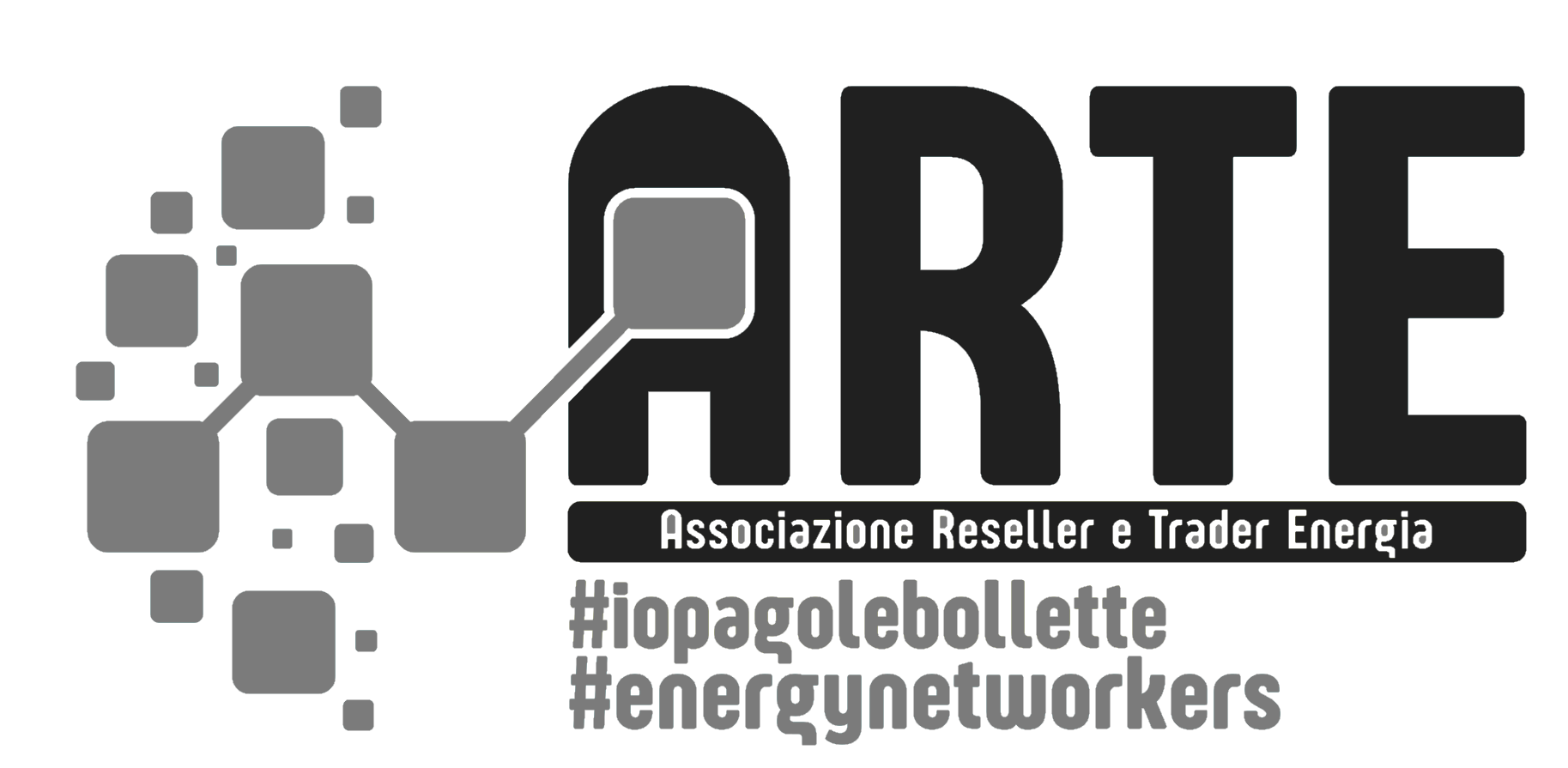 Logo ARTE grigio