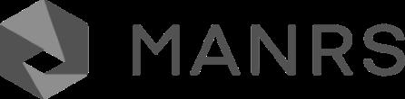 Logo MANRS grigio