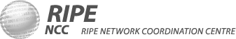 Logo RIPE grigio