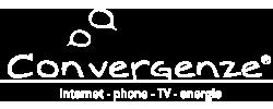 logo Convergenze bianco